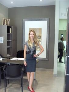 Meu primeiro emprego no Canadá, Lina Donnard